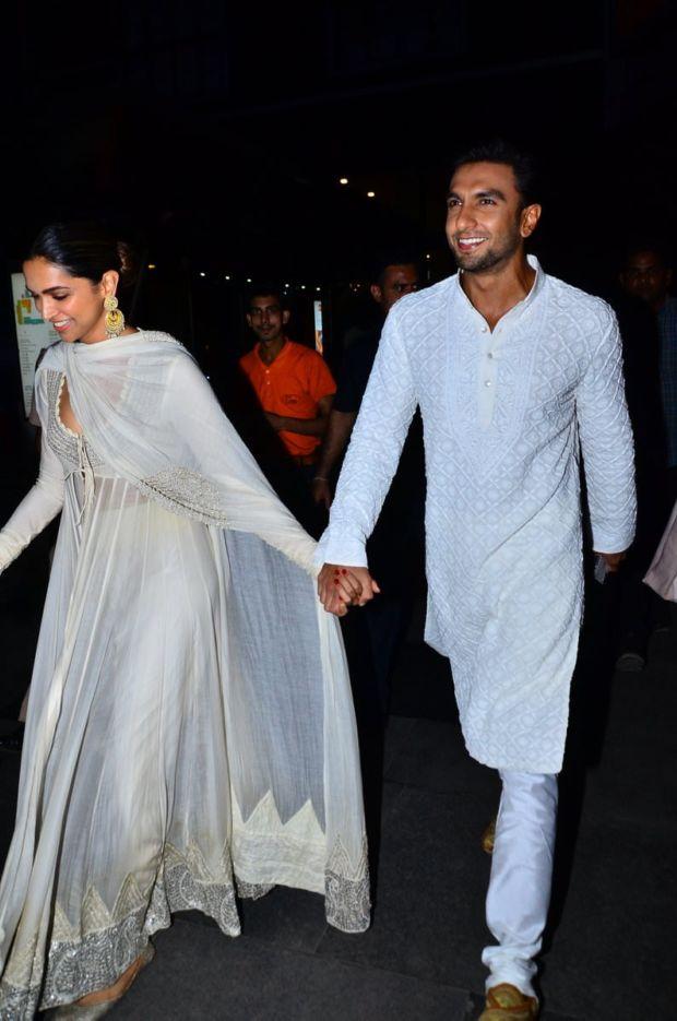 Deepika, Ranveer And Shahid At Padmaavat Screening ...