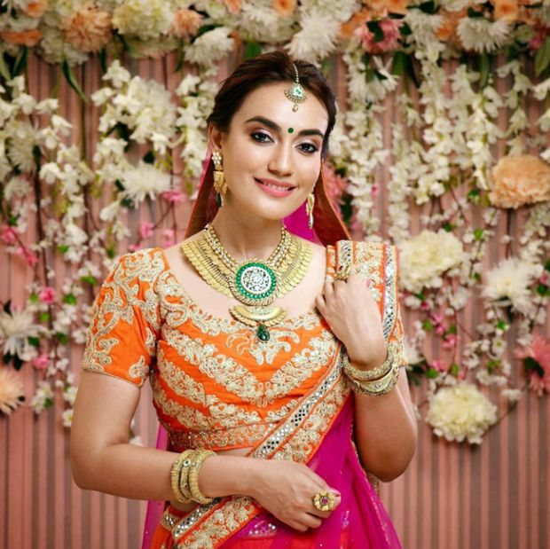 Surbhi Jyoti Looks Beautiful In A Bridal Dress
