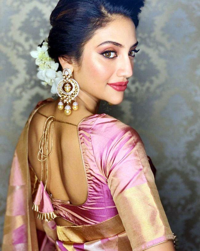 Nusrat Jahan's Shares Stunning Saree Pictures On Instagram