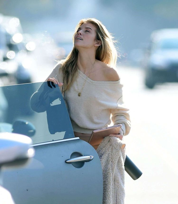 Annalynne McCord Out And About Candids In Los Angeles