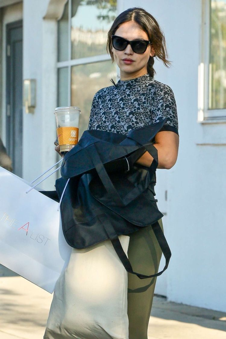 Eiza Gonzalez Spotted Out In Beverly Hills