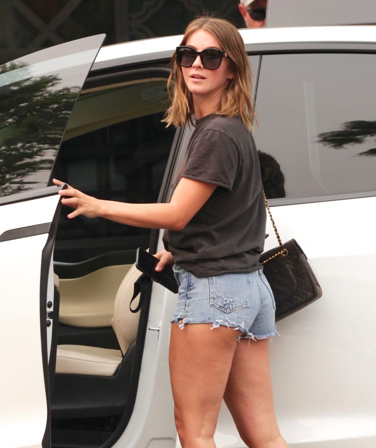 Julianne Hough Candids In Shorts Out And About In Los Angeles