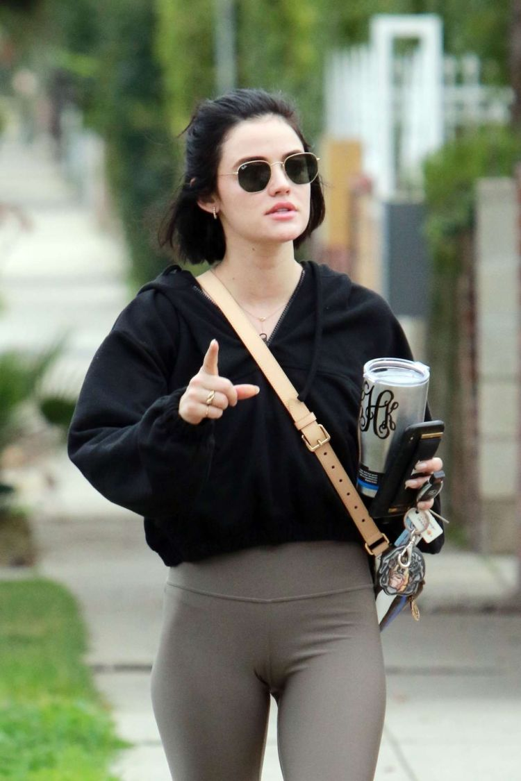 Lucy Hale Out And About Candids In Los Angeles
