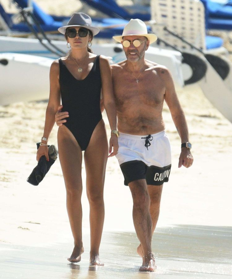 Nigora Bannatyne And Duncan Spotted Outside Sandy Lane Hotel In Barbados
