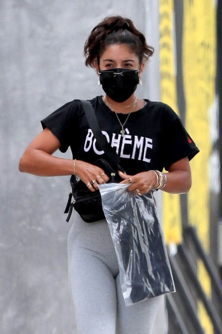 Vanessa Hudgens Spotted At The Dogpound Gym In West Hollywood