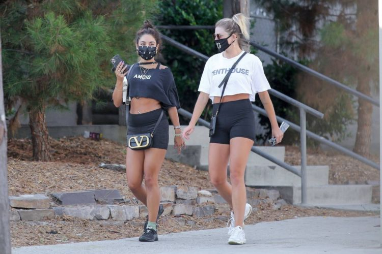 Vanessa Hudgens Candids In Shorts Out In West Hollywood