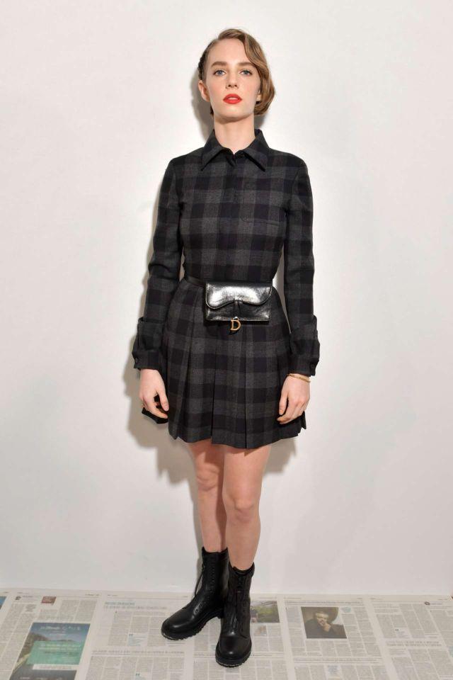 Maya Hawke At The Dior Show At Paris Fashion Week