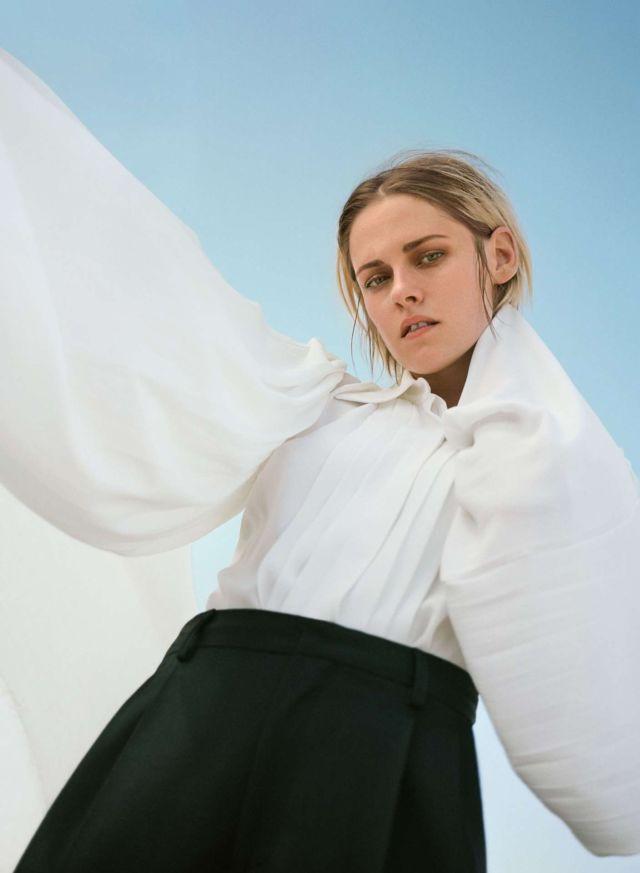 Gorgeous Kristen Stewart Featured In InStyle Magazine